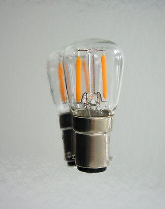 1x bulb (LED - Nickel)