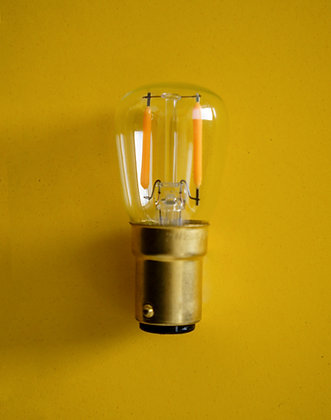 LED bulb brass dimmable