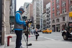 Tournage New York City