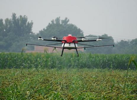 Drone d'épandage agricole