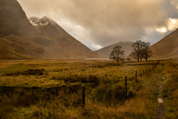 Glencoe  - Scotland - Autumn
