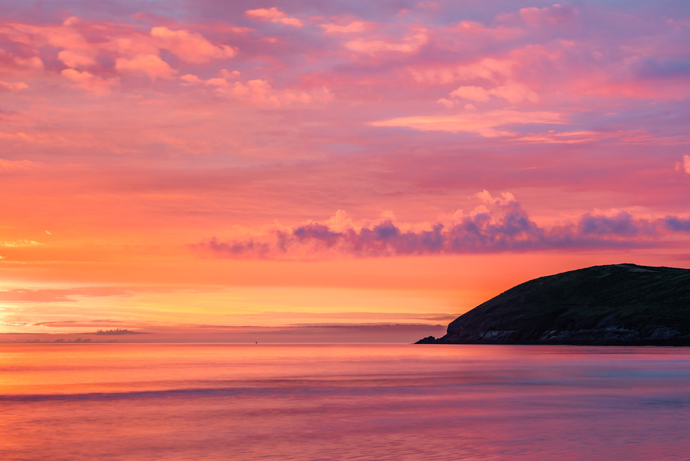 Sunset over Baggy Point - 7530.jpg