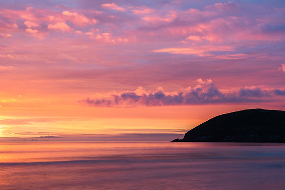 Sundown over Baggy Point