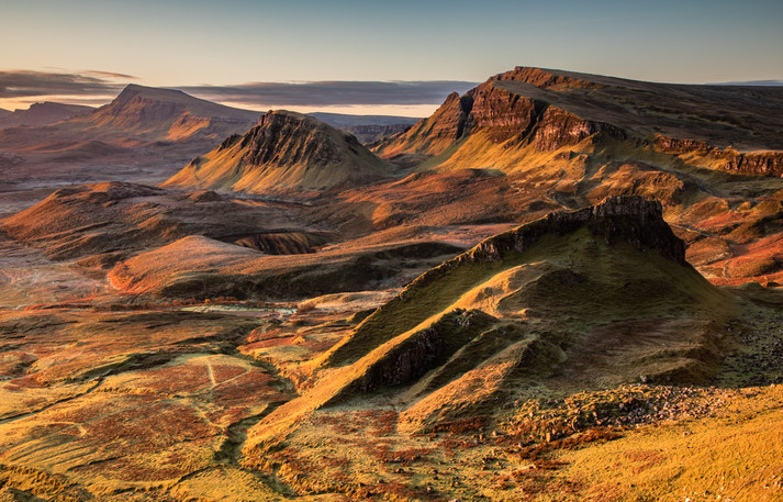 Isle of Skye - Quiraing - Sunrise
