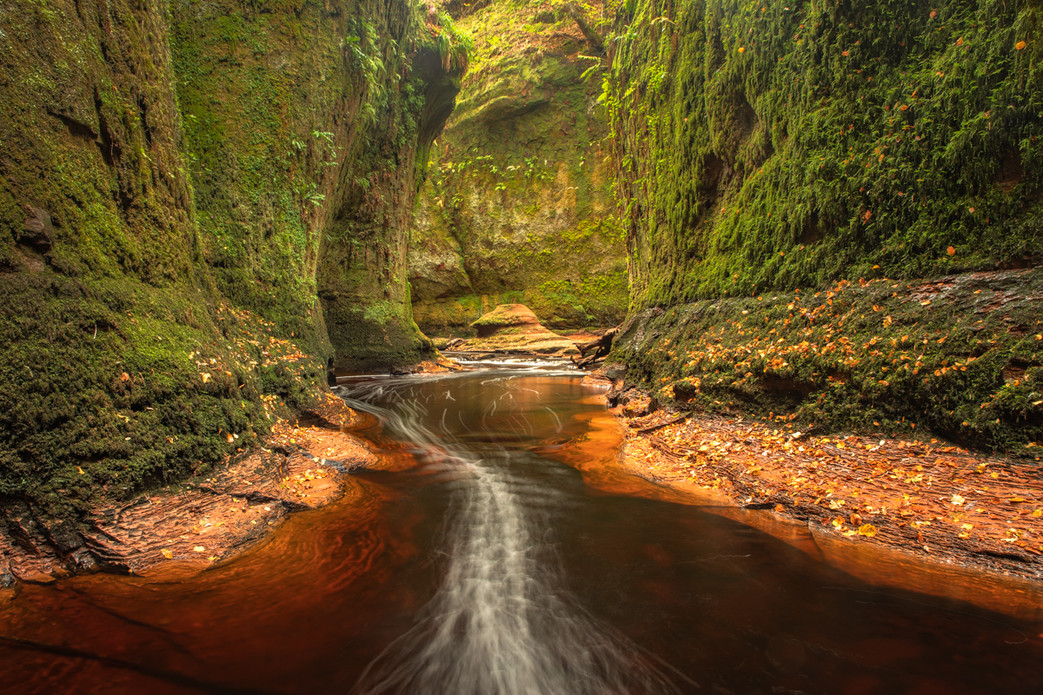 Finnich Glen Devil's Pulpit