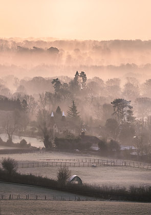 Winter Sunrise of the Weald