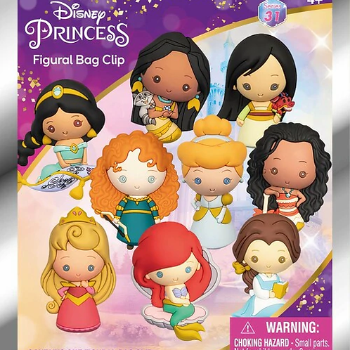 Disney Princess Figural Keychain
