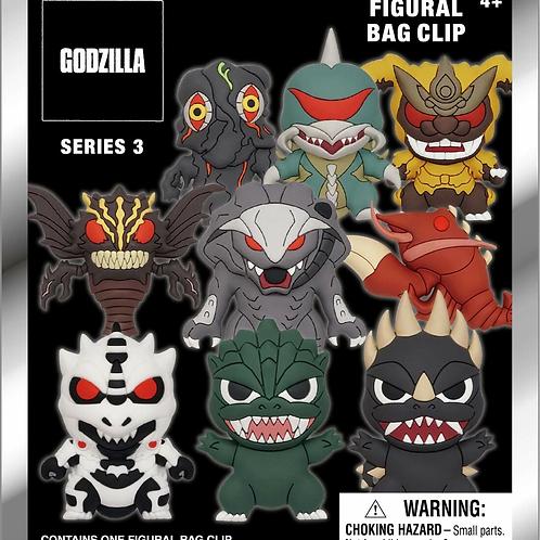 Godzilla Figural Keychain vol.3