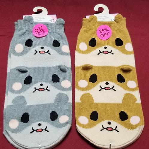 Heartbeat Hamster Socks