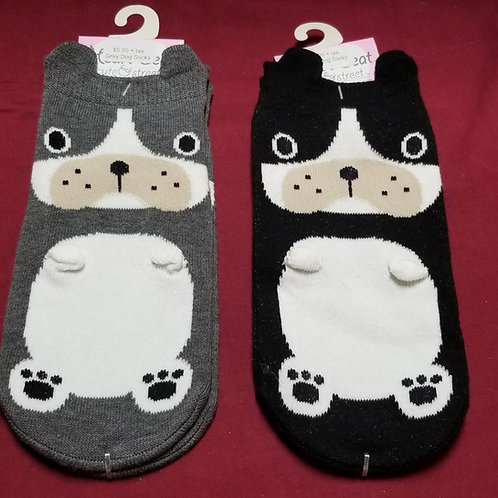 Heartbeat Dog Socks