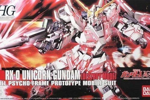 HG Unicorn Gundam [Destroy Mode]
