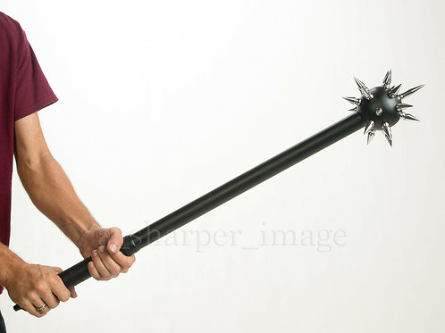 901146-BK OR SL Spiked Ball Mace