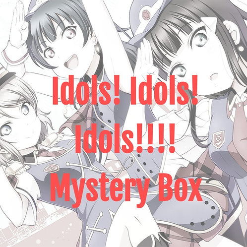 Can you count the Idols? Mystery Box