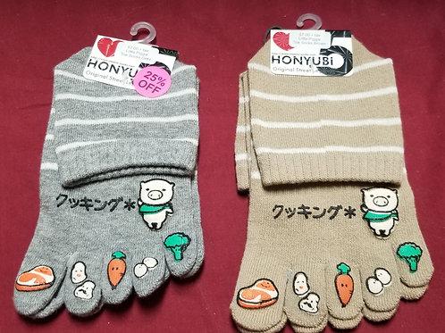 Honyubi Toe Socks