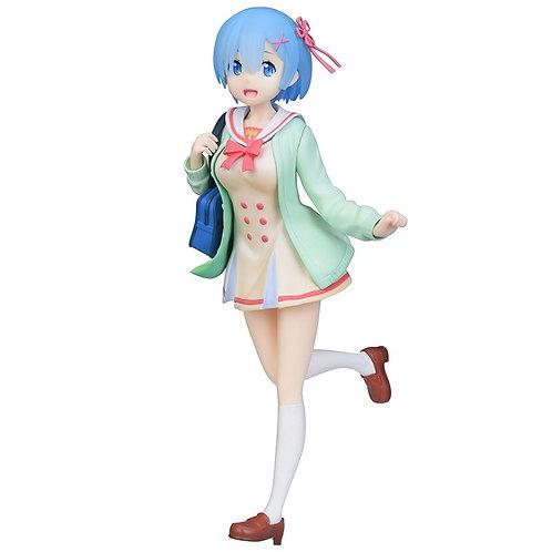Re:Zero School Uniform Rem Figure