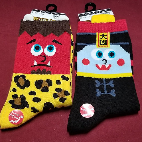 Yokai Character Socks