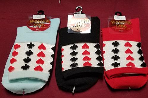 Royal Card Suite Socks