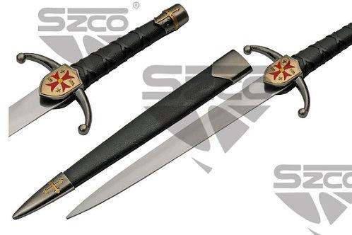 """15"""" Maltese Cross Dagger"""