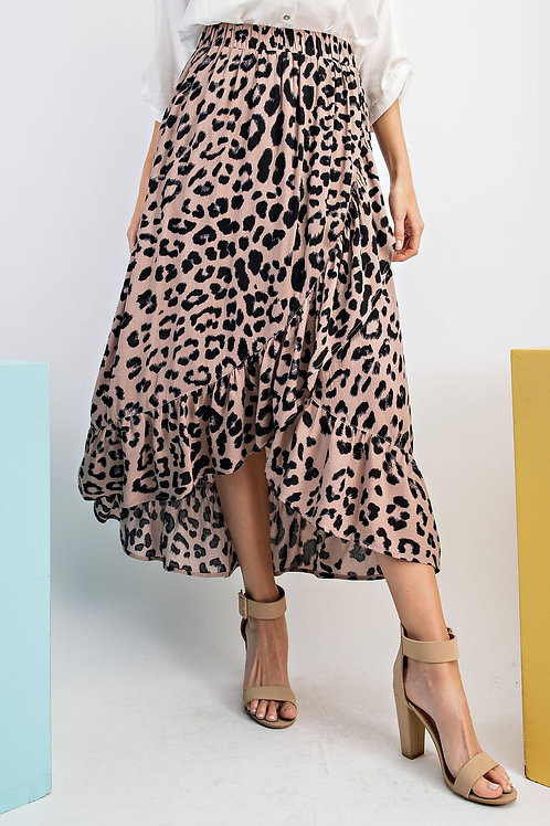 Leopard Love Skirt