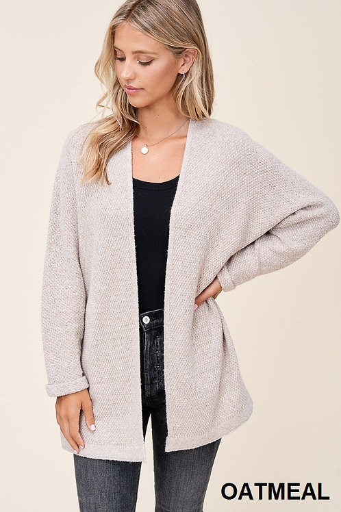 Fave Cardigan in Oatmeal