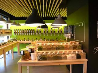 Botaderos - Exhibidores para productos por gramaje.