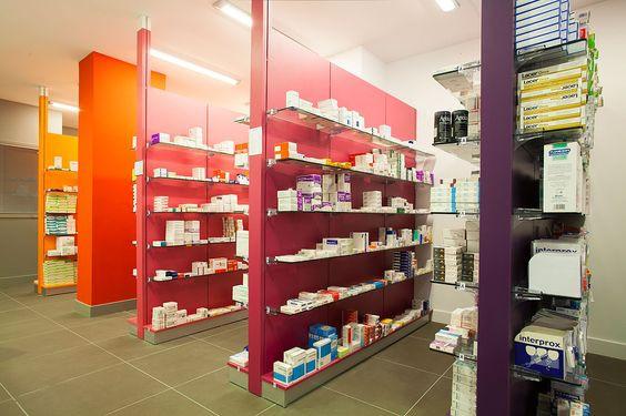 Gondolas farmacia.