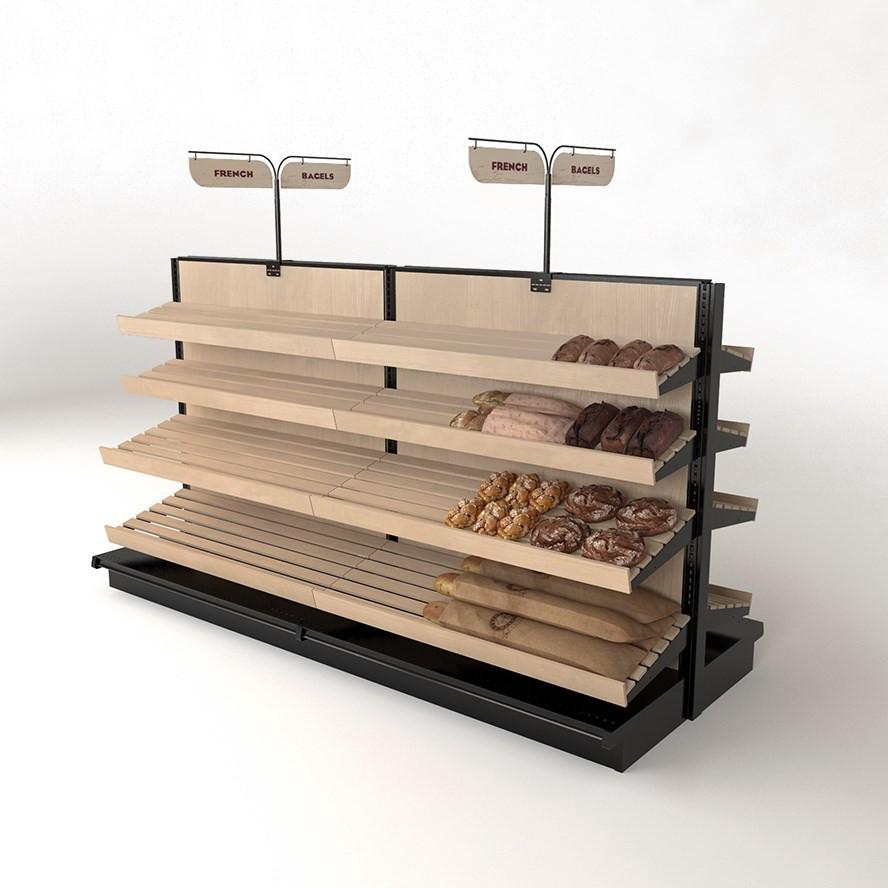 Ejemplo Góndolas para pan.
