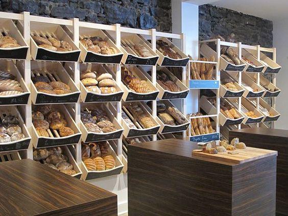 Estantes para panadería.