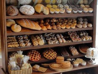Exhibidores para panadería gourmet.