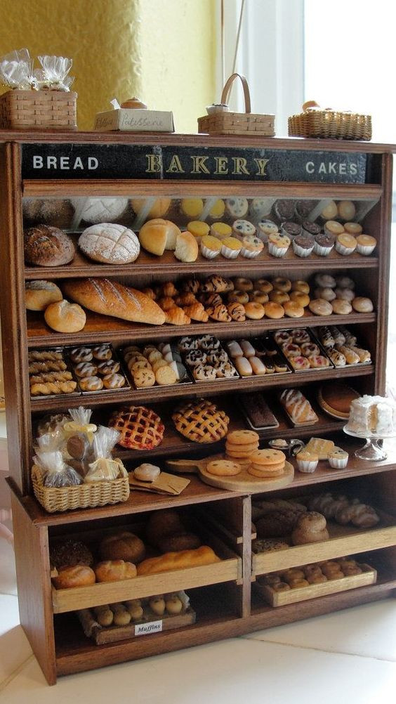 Estantería para pan.