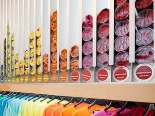 Exhibición por color.
