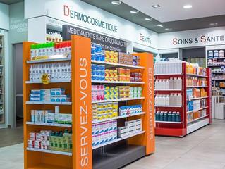 Góndolas para Farmacias.