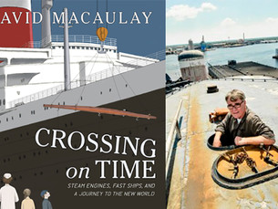 "Special Preview of David Macaulay's SS United States Masterpiece: ""Crossing on Time"""