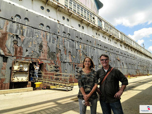 Author-illustrator of upcoming SS United States book honored with Vermont Governor's Art Award