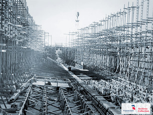 CLASSIC VIDEO: Building the SS United States