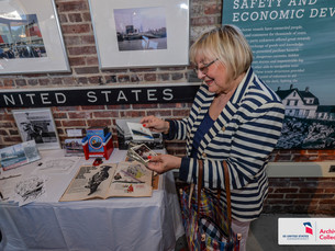 """Excitement at Grand Opening of New Exhibition: """"Full Speed Ahead to the Fabulous SS United Stat"""
