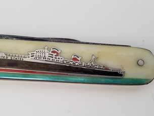 Discover the Story Behind This Rare SS United States Pocketknife Owned by Woodcarver William W. Gegg