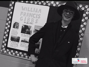 A Night at the Wax Museum with William Francis Gibbs