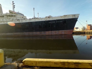 "WATCH: SS United States Featured in French Documentary Series ""Paradis de Rouille"" on ARTE"