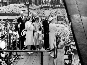 WATCH: The Christening of America's Greatest Ocean Liner, the SS United States
