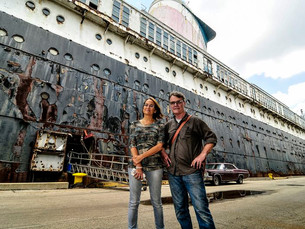 A Chance for an Exclusive Tour of the SS United States with Author David Macaulay