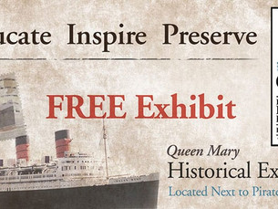 SS United States Featured in RMS Queen Mary Historical Exhibition