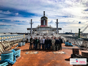 Inspiring the Next Generation: SUNY Maritime Naval Architecture Students Tour SS United States