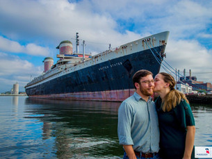 Romance aboard America's Flagship! SS United States plays role in surprise onboard proposal