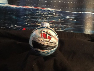 Order your SS United States Collectible Ornament Today!