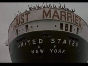 SS United States on Screen: Gentlemen Marry Brunettes (1955)