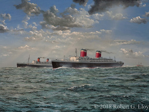 Robert G. Lloyd 'A Race to the Finish' Prints Now Available