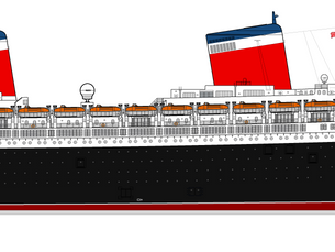 SS United States Inspires New Design by Conservancy Chapter Co-Chair