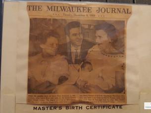 Passenger Memories: Born on America's Flagship