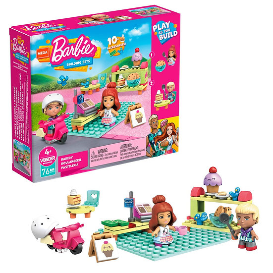 Mega Bloks Construx Barbie Locations